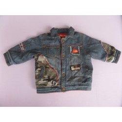 Veste jean molletonnée Tom et Kiddy 2 ans