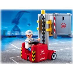 Playmobil - 4476 - La Vie au Port - Docker / Elevateur