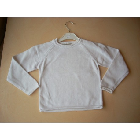 Pull maille coton 6 ans