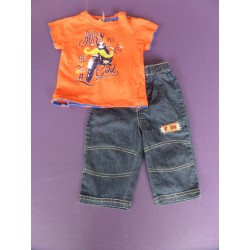 Ensemble jean Disney 1 an
