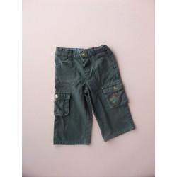 Pantalon toile marine A l'Heure Anglaise 2 ans