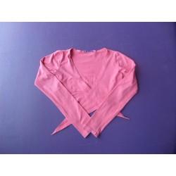 Bolero jersey rose Gemo 12 ans