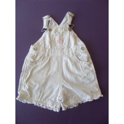 Combishort fille Babyclub 6 mois