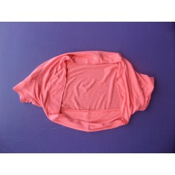 Bolero jersey corail fille 10-12 ans