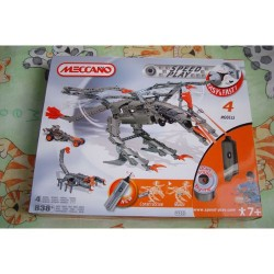 Meccano speed play REF 9902 4 MODELES MOTORISES 840 P