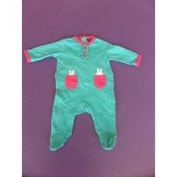 Pyjama jersey fille 1 mois