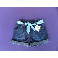Neuf ! Short denim fille Obaibi 1 an