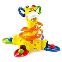 tourballon, girafe à balle fisher price,