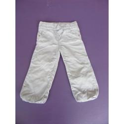 Pantalon doublé Kidkanai fille 2 ans