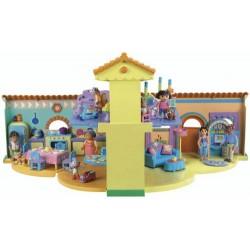 Lot La Maison Bilingue De Dora et le camping-car, Mattel