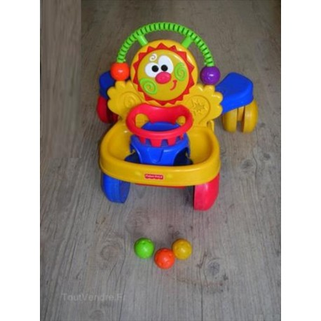 Trotteur porteur musical FISHER PRICE - Caillou