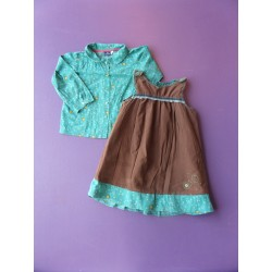 Ensemble robe microfibrée Sergent Major 2 ans