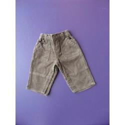 Pantalon velours Lulu Castagnette 3 mois