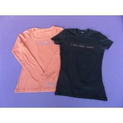 Lot de tee-shirts strassés Calvin Klein taille XS-S