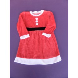 Robe de Noel velours 6 ans