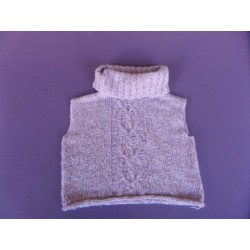 Pull court mohair fille 10 ans
