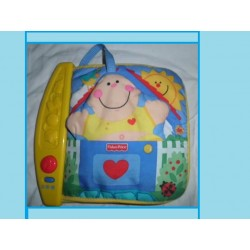 livre 123 fisher price jaune