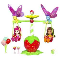 Hasbro, Charlotte aux Fraises, 3 Poupées - Fraisi-Câline - 10 cm