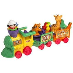 Fisher-Price Little People Musical Zoo Train by Lgp