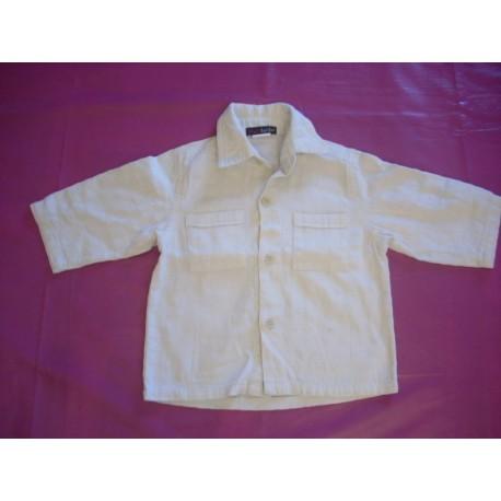 Chemise blanche garçon 18 mois