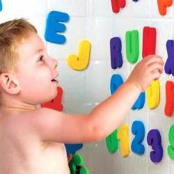 Lettres et Chiffres Mousse Autocollants Jouet de bain pour bébé