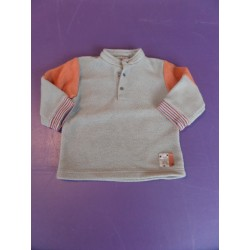 Sweat polaire Petit Pirate 1 an