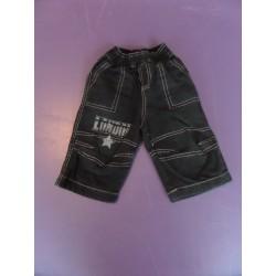 Pantalon de sport  noir printé 1 an