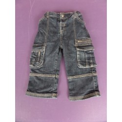 Jean droit multipoches 2 ans