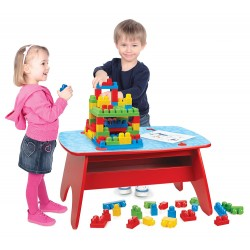 Neuf ! Mega Bloks First Builders - Table Géante