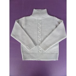 Pull col montant Lili Star 5 ans