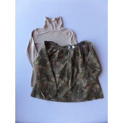 Col roulé + blouse Okaidi 8 ans