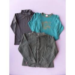 Lot t.shirts/tunique fille 5 ans