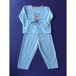 Pyjama fille velours 2 pièces 3 ans