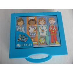 Boîte de cubes les Métiers Unicef