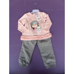 Neuf ! Ensemble My Sweat Friend fille 2 ans
