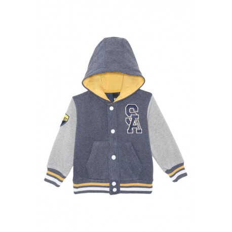 Neuf ! Sweat à capuche style collège 4 ans Caillou Flacoti