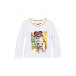 Neuf ! T-shirt imprimé petit chat 3 ans