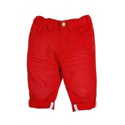 Neuf ! Pantalon twill rouge 3 mois
