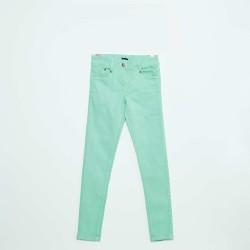 Neuf ! Pantalon twill vert aqua  3 mois