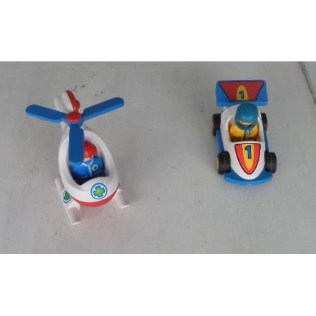 123 Et Hélicoptère Course Voiture Flacoti Playmobil De Lot Caillou 0PZ8nOkNwX