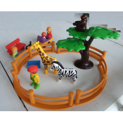 Lot Playmobil 123 zoo