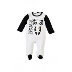 Neuf ! Grenouillère imprimé mini panda 18 mois