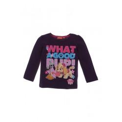 Neuf ! T-shirt imprimé Paw Patrol violet 4 ans