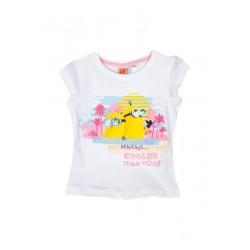 Neuf ! T-shirt imprimé Minions fille 3 ans