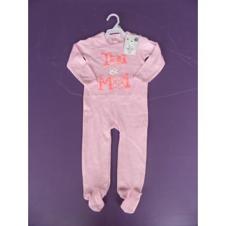 neuf pyjama fille imprim jersey 2 ans caillou flacoti. Black Bedroom Furniture Sets. Home Design Ideas