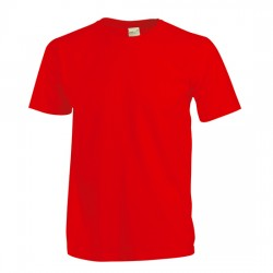 Neuf ! T-shirt uni rouge b.a. Basic 1 an