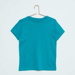 Neuf ! T-shirt uni bleu ba Basic 6 mois