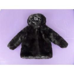 Neuf ! Manteau imitation fourrure fille 4 ans
