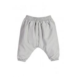 Neuf ! Pantalon boule avec noeud gris 3 mois