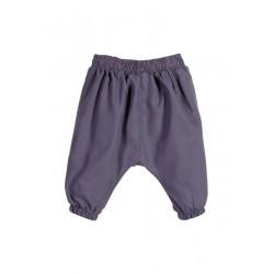 Neuf ! Pantalon sarouel uni violet grisé 3 mois